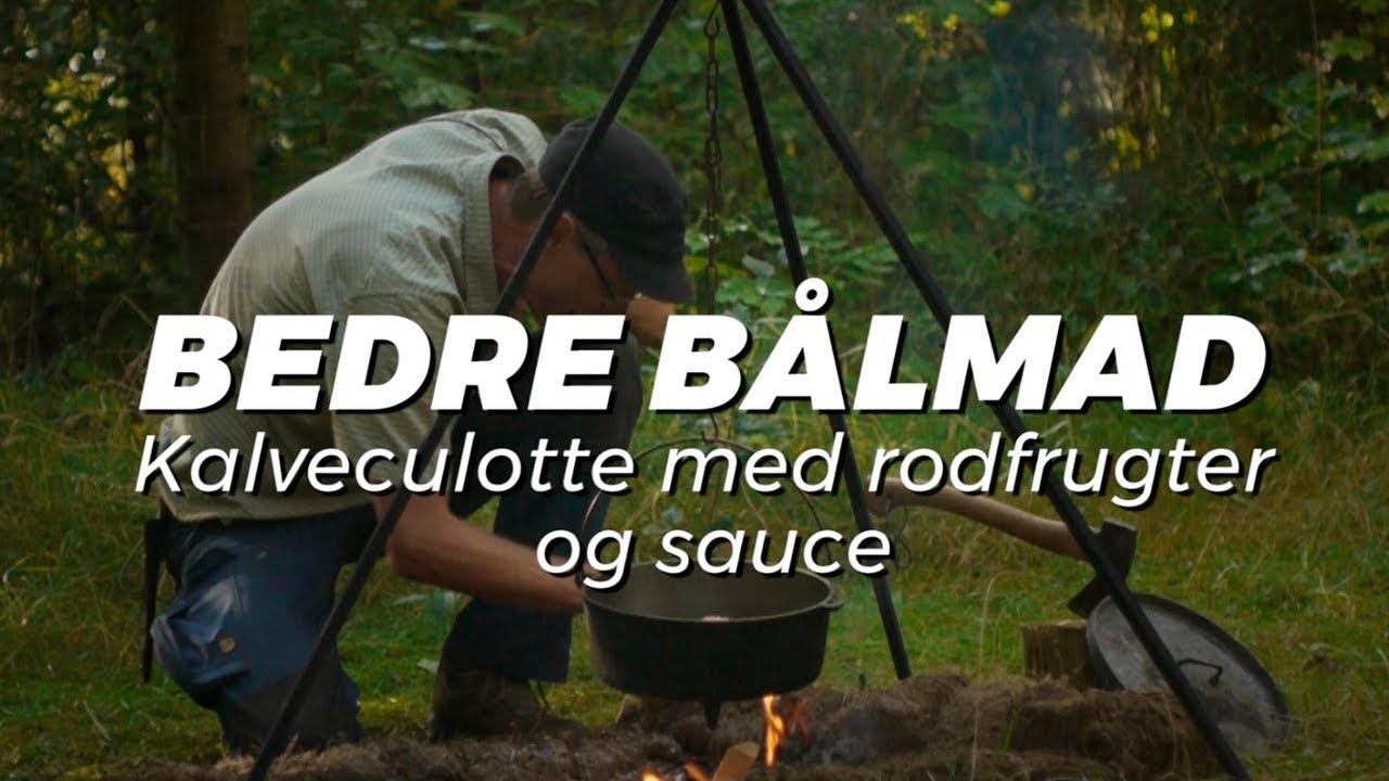 Video Perfekt Kalveculotte Med Rodfrugter Og Sauce Bedre Bålmad